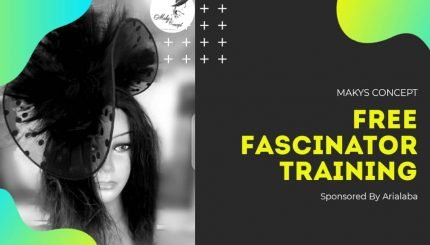 Arialaba free fascinator training