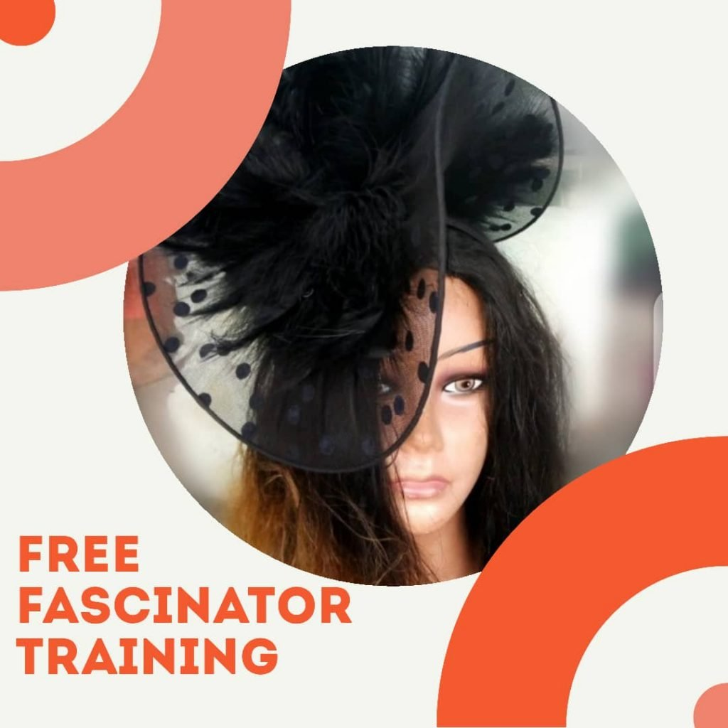 Free fascinator training